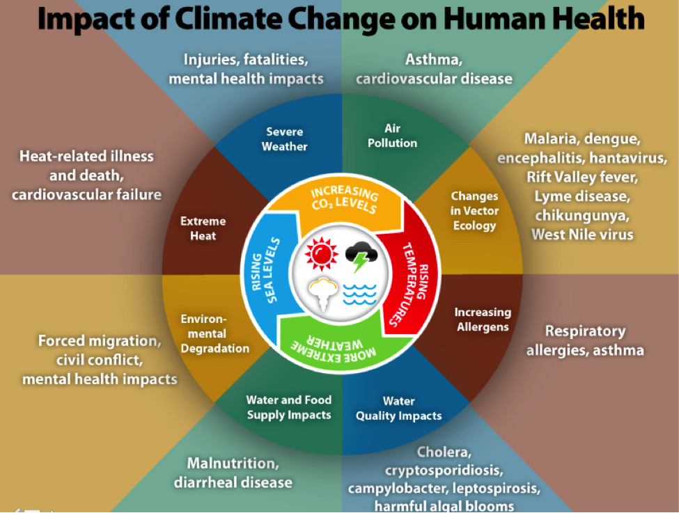 Source: CDC's  Climate and Health Program