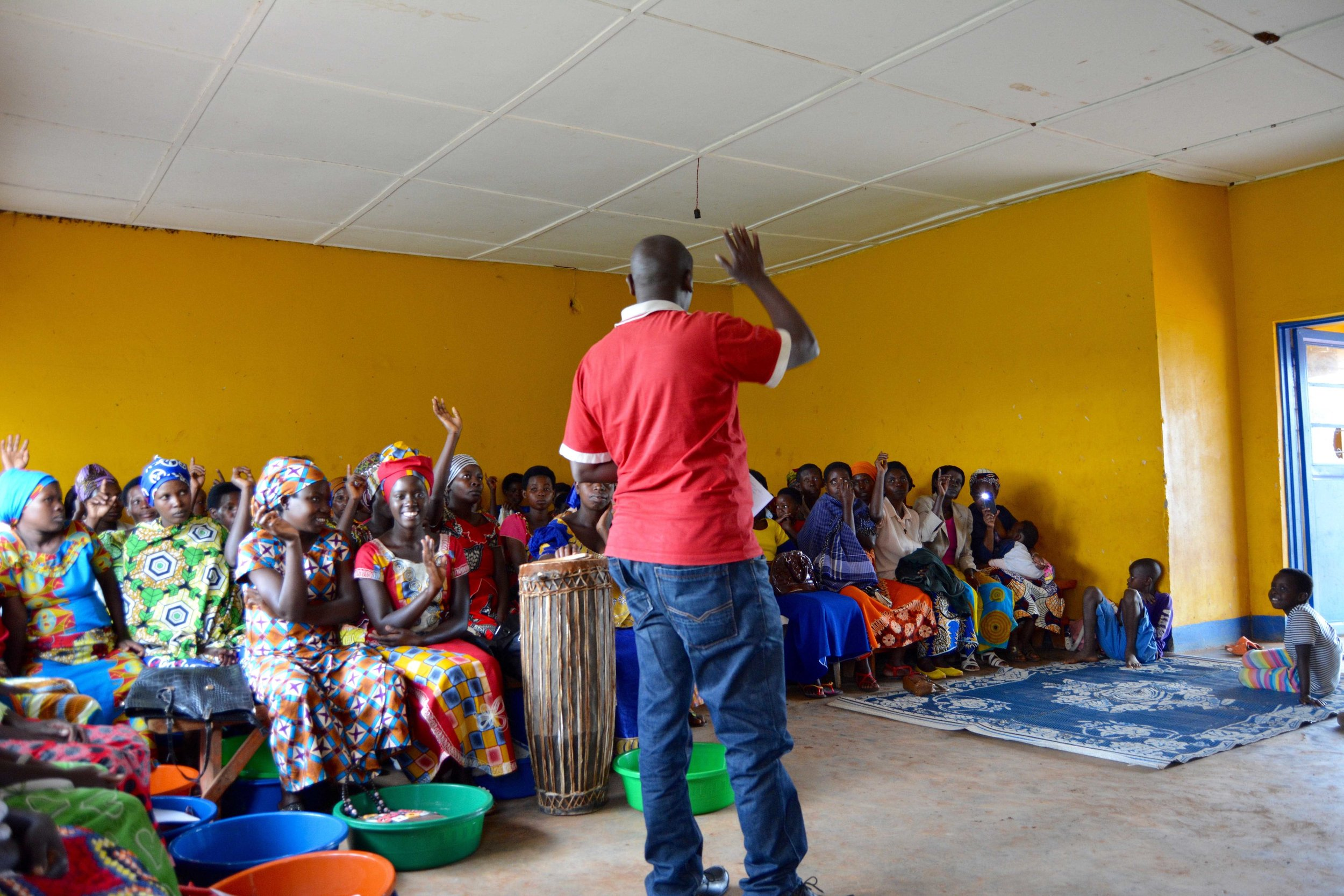 A local government authority addresses mothers in Claudine's cohort.