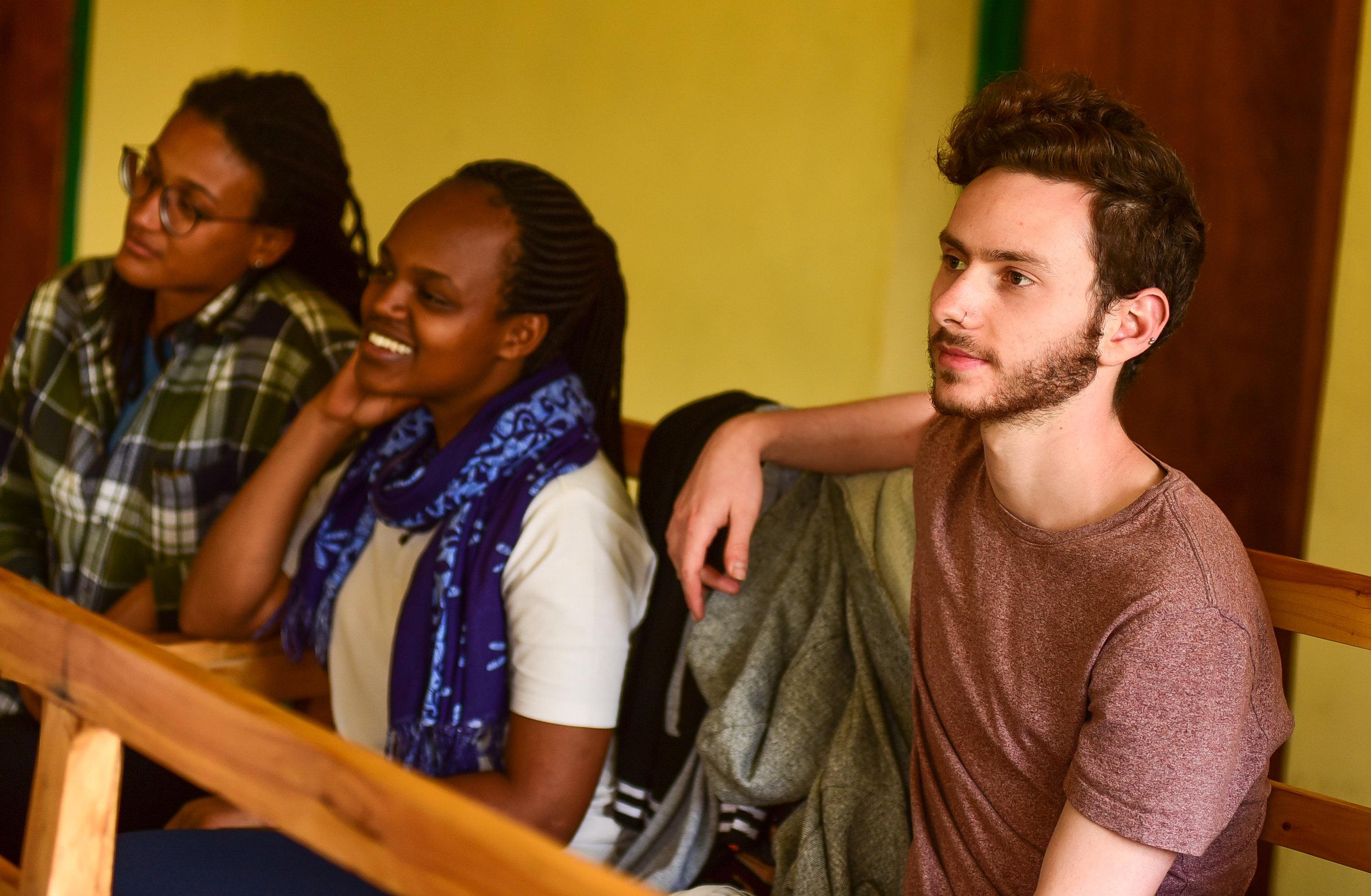 Attending an ANC training in Karwasa, Musanze. Photo by Maggie Andresen.