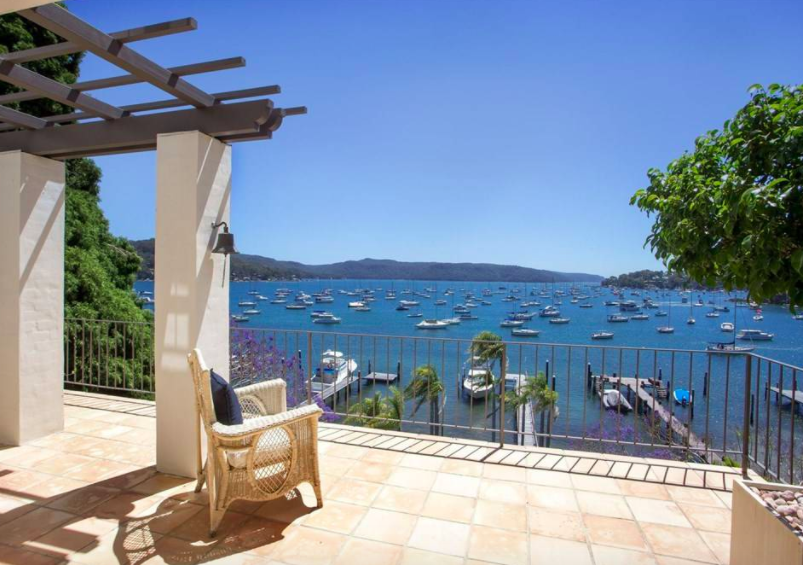 Nestled within a desired and sheltered location in Newport, Australia, La Dolce Vita has exceptional amenities for aquatic sports, including a sandy beach, saltwater pool, boatshed with kitchenette, and a private jetty to accommodate a 40+ foot yacht, perfect for sailors.