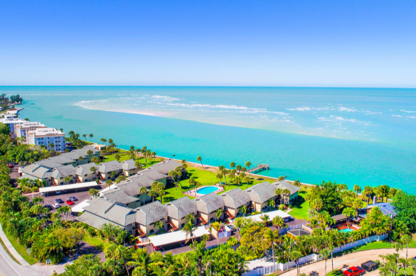 Sea Village is a beachfront paradise on the aqua waters of the Gulf of Mexico.