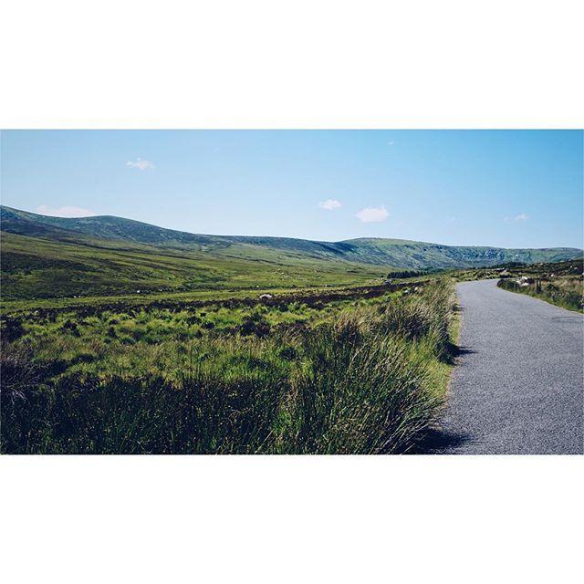 Roadside of Ireland. . . . . . . . #ireland #wicklow #wicklowmountains #dublin #countywicklow #mountains #mountain #roadside #road #green #emerald #grass #sky #cloud #clouds #vsco #vscocam #sony #sonya6300 #ireland_gram #icu_ireland #insta_ireland