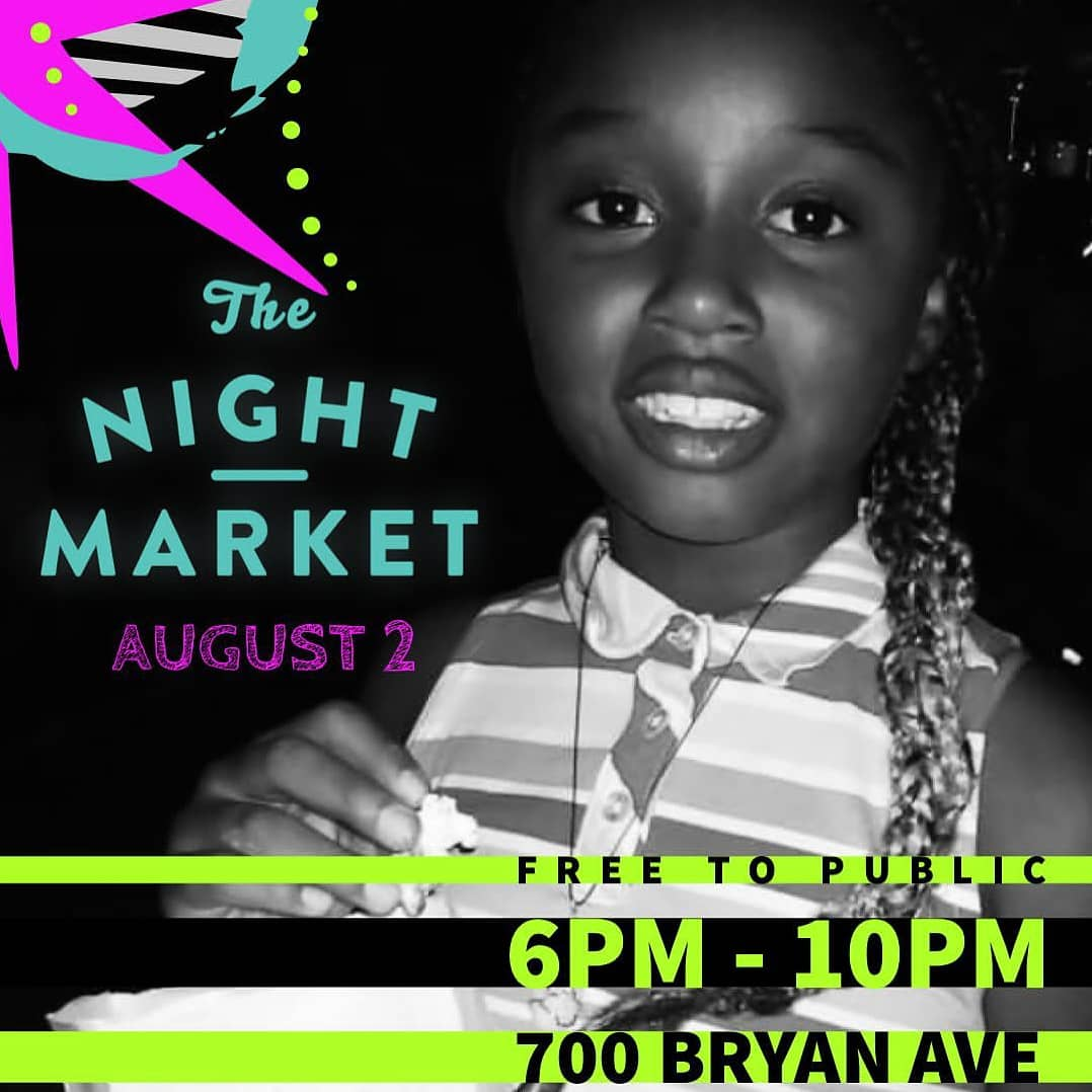 The Night Market is a monthly community event that takes place in Lexington, Kentucky.