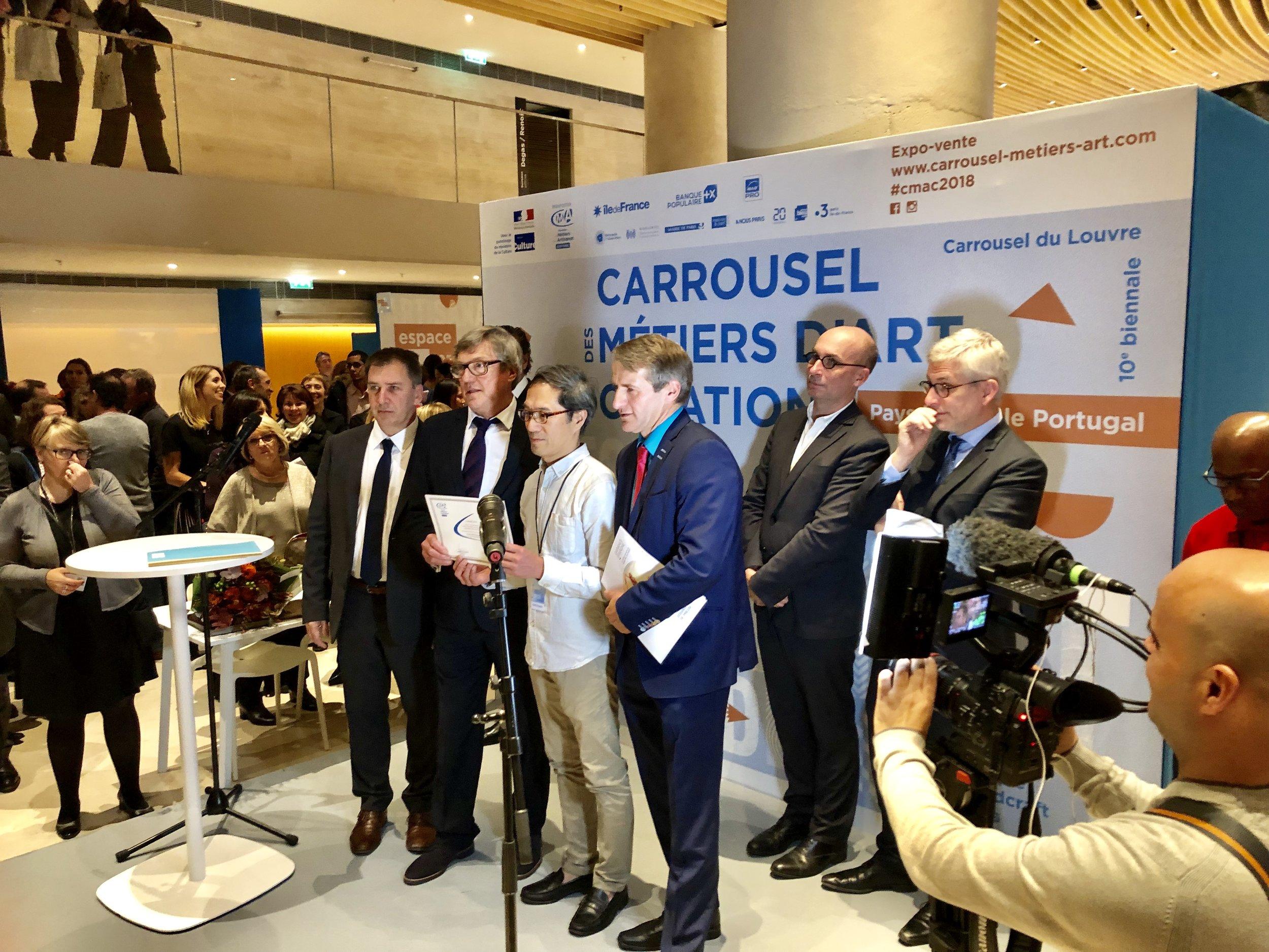 Prix Jeunes Talents 2018 au Carrousel du Louvre PARIS
