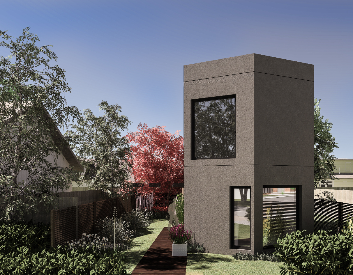 3 BED XX90-3  A 3 bed family home, both stylish and practical, suited to the suburban environment.