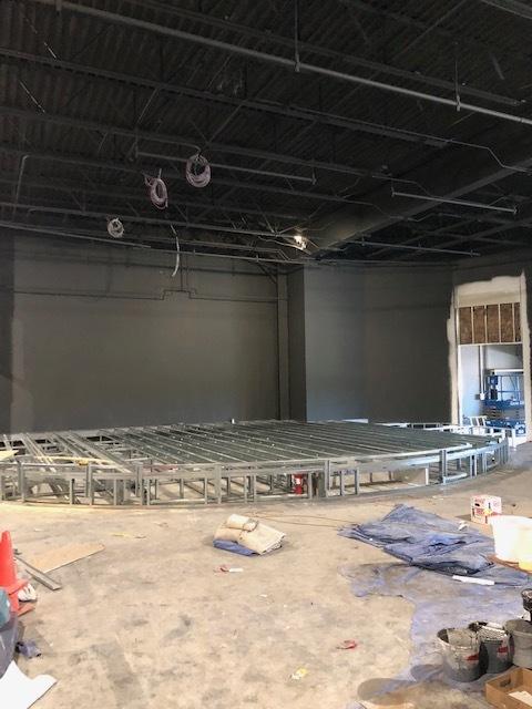 Stage in Main Auditorium