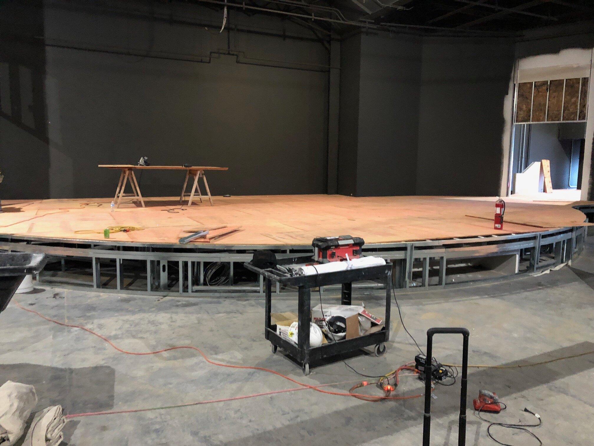 Stage in the Main Auditorium
