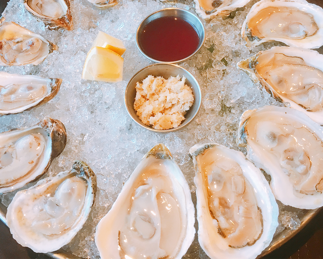SUNDAYS $1 oysters12pm-8pm - Sundays, we shuck. Join us on our four season balcony for Raw Bar gems and yep, you guessed it, $1 Oysters all day! Feeling torn between Game Day and your love for oysters? We get it, you're not alone, and with Football on our TV you can watch the big game AND indulge in $1 oysters.