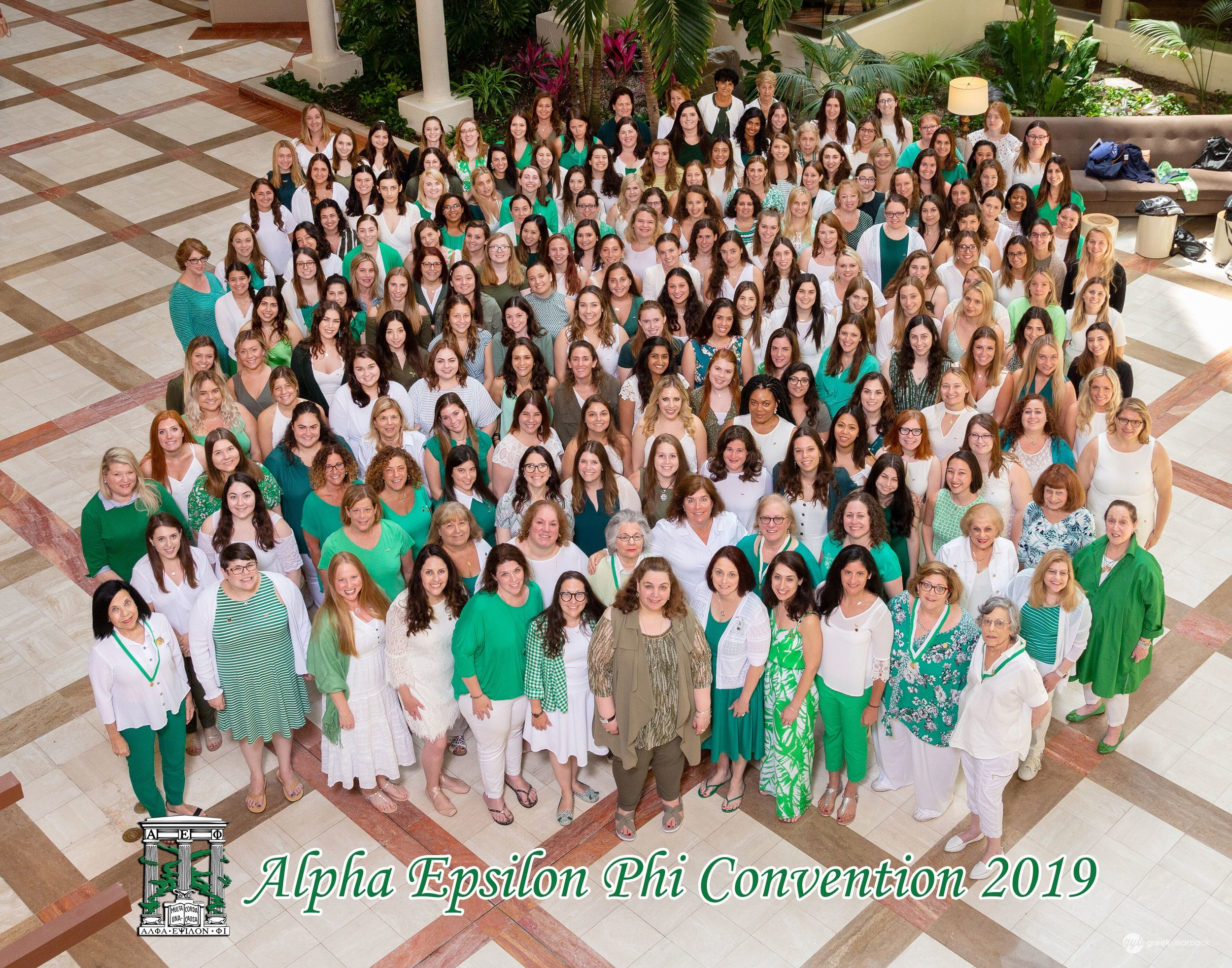 Convention 2019 Photos! - Thanks to GreekYearbook for being our official convention photography company. All photos from convention can be found online. GreekYearbook provides the best in sorority and fraternity composite, bid day, and convention photography for thousands of sorority and fraternity members across the United States and Canada.