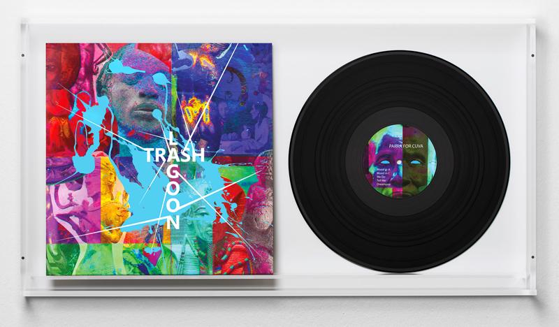 Parra for Cuva, Trashlagoon, in collaboration with Jim Lambie  Trashlagoon // Parra for Cuva (2016) Vinyl record, paper cover 31,3 x 30,5 cm Ed. of 400
