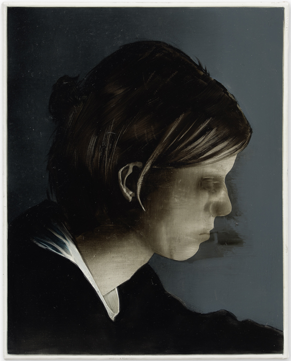 Seth Pick  The passionate struggle for precious singularity (Portrait of I.B.P) (2015) Oil on canvas 50 x 40 cm