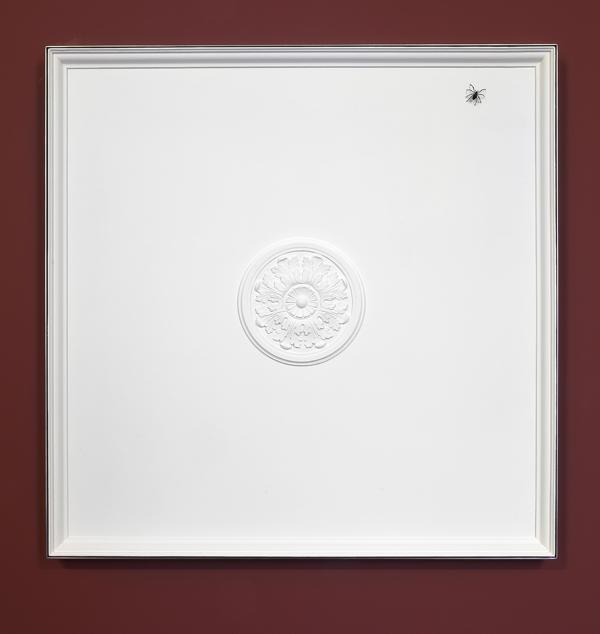 Elmgreen & Dragset  Historical Detail, Fig. 2 (2014) Stucco, wood, metal frame, metal spider 130 x 130 cm