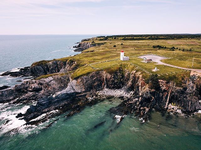 I'm out here in Nova Scotia, developing genius tier cooler related grifts, relying on the kindness of trailer park senior citizens, and calling my mom a lot. - - - - #mavicpro #DJI #novascotia #womenwhodrone #beautifuldestinations #wearetravelgirls #gameoftones #dronefly #explorens #explorenovascotia