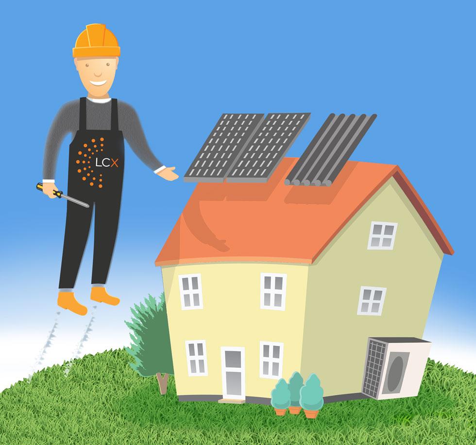 Installation Services - Solar Panels, Heat Pumps, MVHR Systems, Quantum Heating