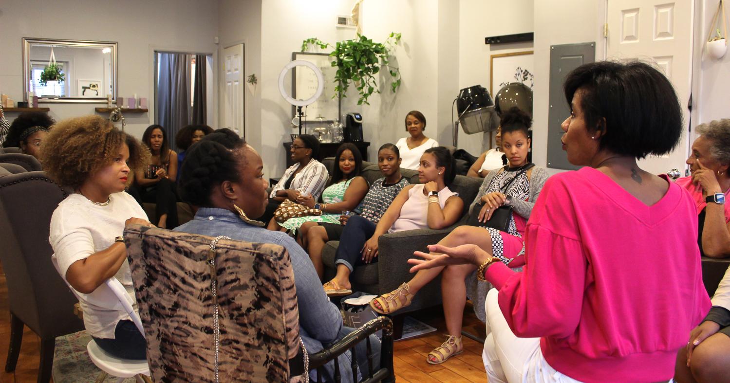 Photos: Natalie Robinson and Na'Tasha Jones for RUNGRL