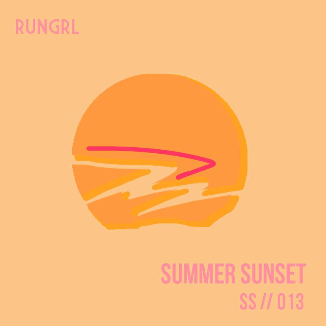 RUNGRL 013 | Summer Sunset - Between the moody weather and negotiating with miles, we conclude that Summer '19 was a handful. You worked hard and are now due for a little R&R. This mellow set reflects the calm before the fall race season storm. Light some sage, hit a yoga pose and cool out to some smooth and vibey beats.Listen on Spotify