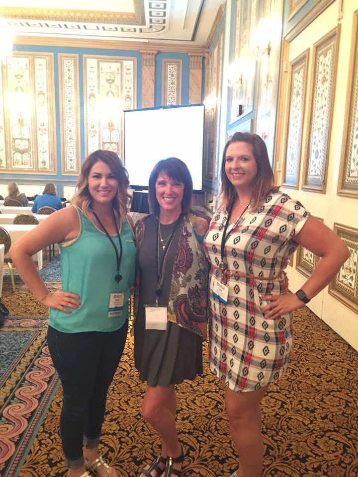 Keeli, Carol, and Lynn - Day One Fun!