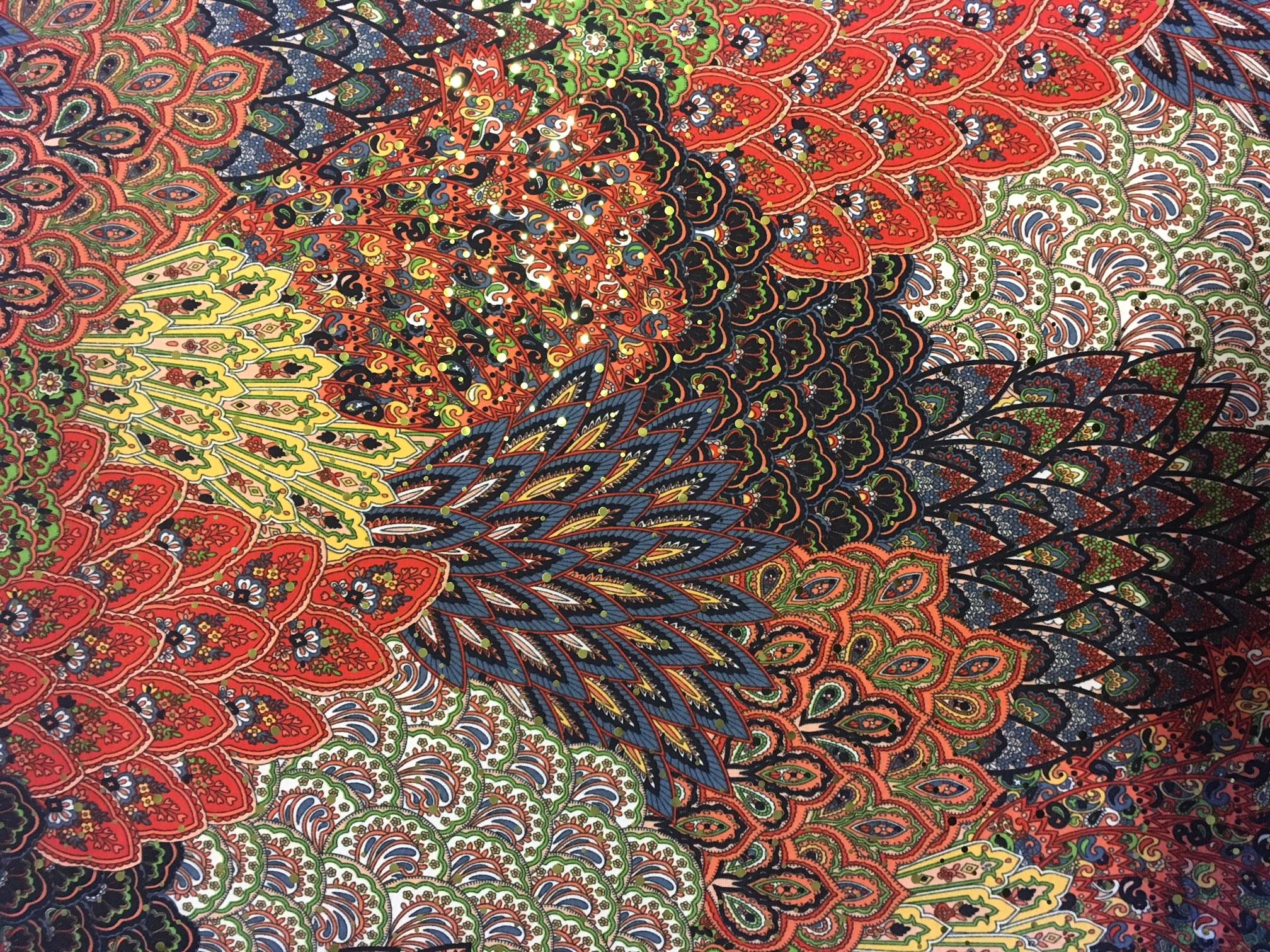 Autumn Harvest (holographic sequins)