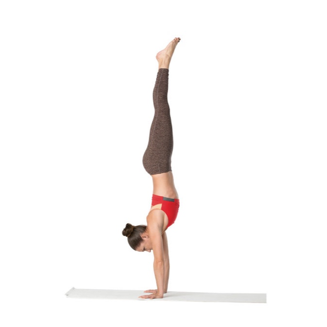Handstands + related inversions - photo: yogajournal.com