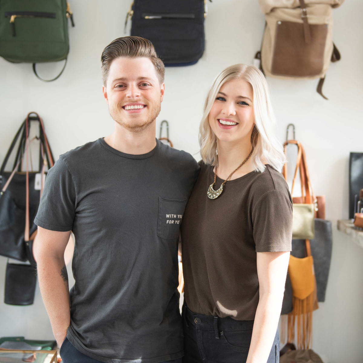 Forth and Nomad Owners Andy and Morgan Sommer