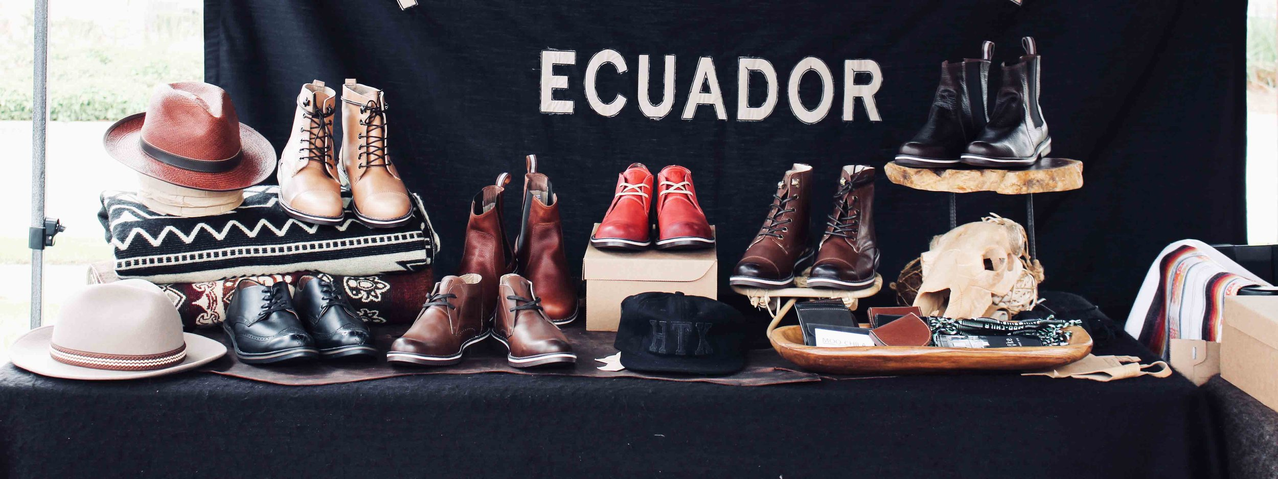 Handcrafted Leather Footwear & Goods by Moo-chila in Houston, TX