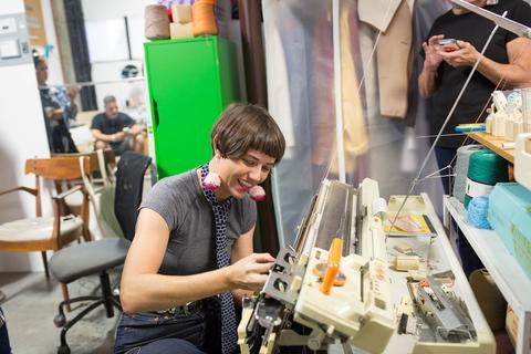 Claire Drennan, Houston Fiber Artist & Owner of Claire Drennan Knits