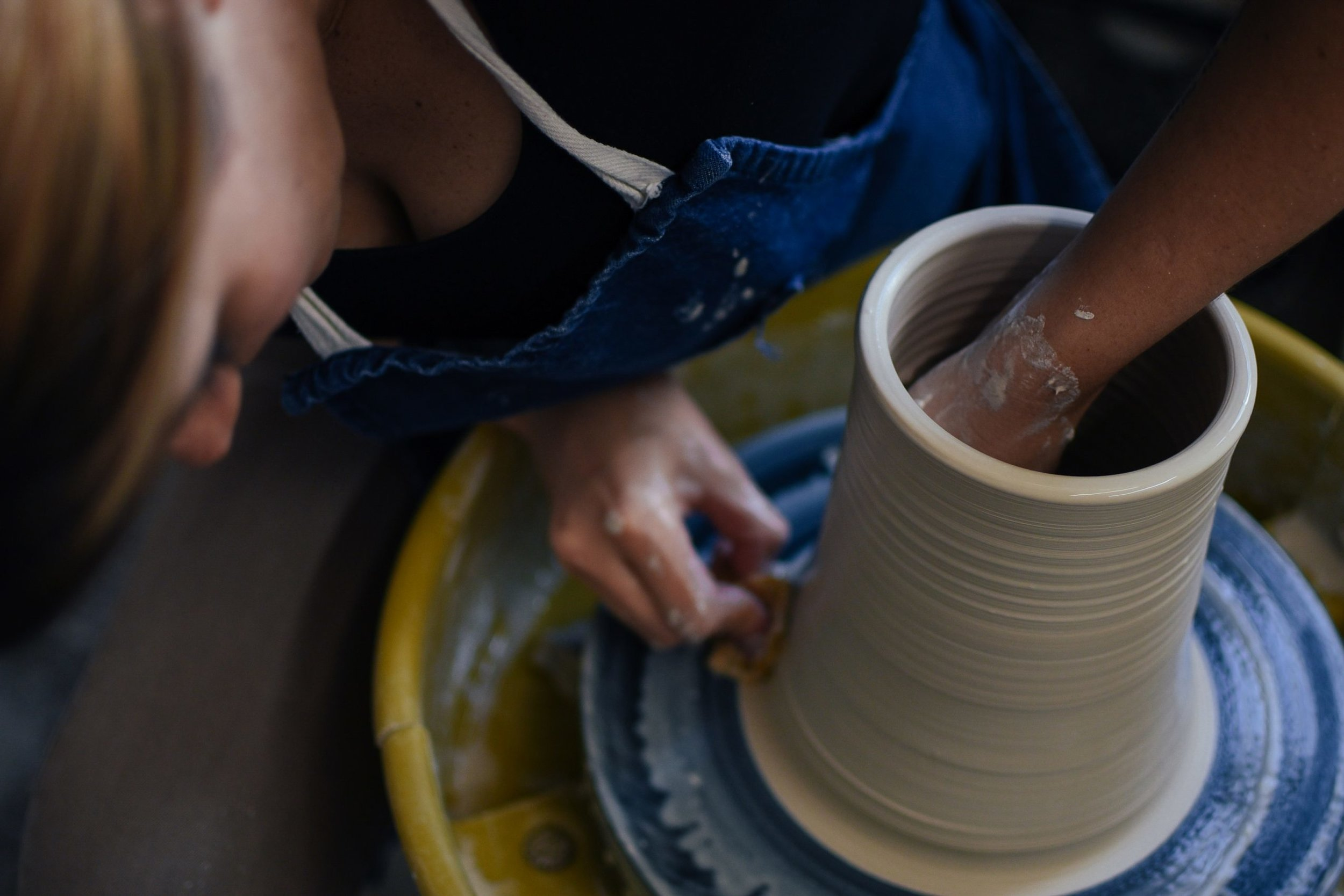Owner of Box Sparrow Studio, Abbie Preston, Creating One-of-a-Kind Ceramic Pieces