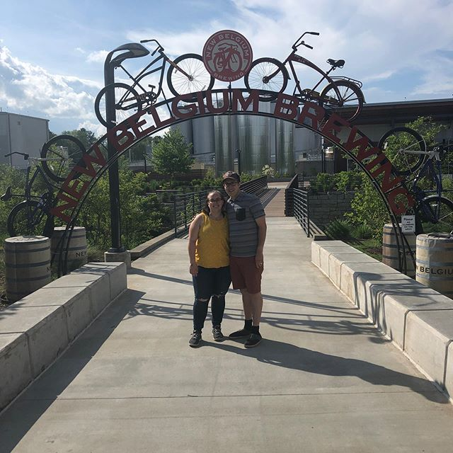 We had a great visit to New Belgium's Asheville brewery! Cool art, themed tiling around the brewing equipment, a slide and great beer! Did we mention the slide? . . . #brewerytour #randomslide #asheville #newbelgiumbrewing #vanlifediaries #filmorethevan #beer #brewery #lifeontheroad