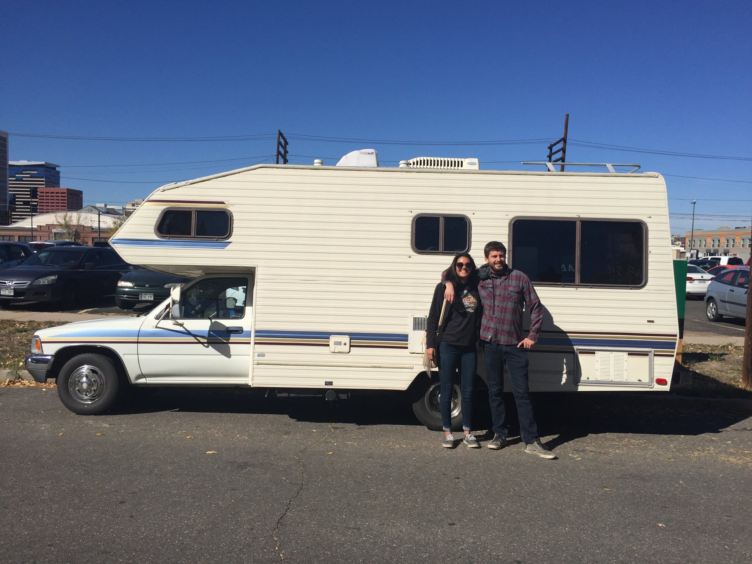 Our brand new, old RV!