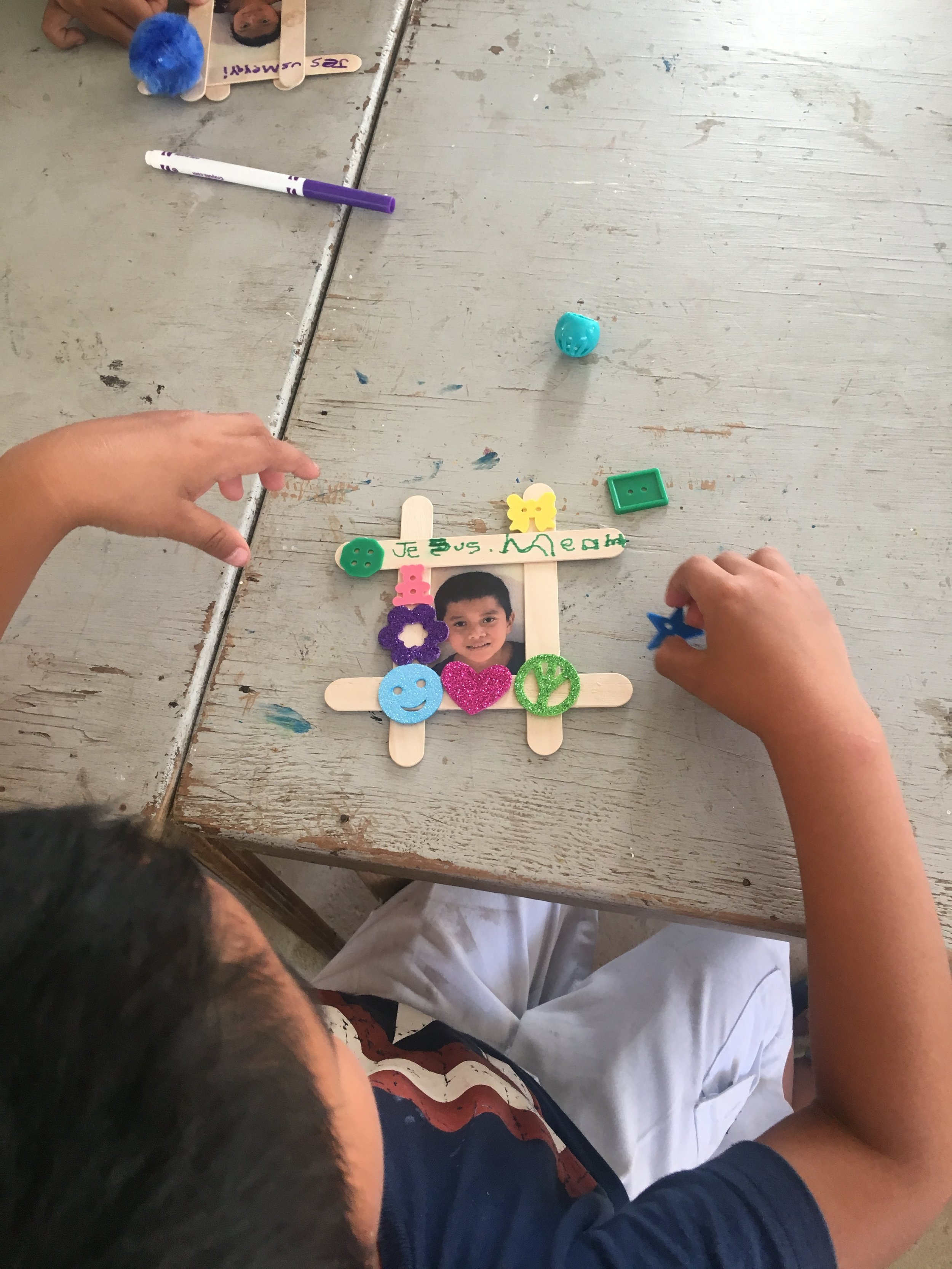 Tizimin, Mexico Arts and craft Day.To see a child that is full of God's Glory is amazing.He loves the innocent and our children.