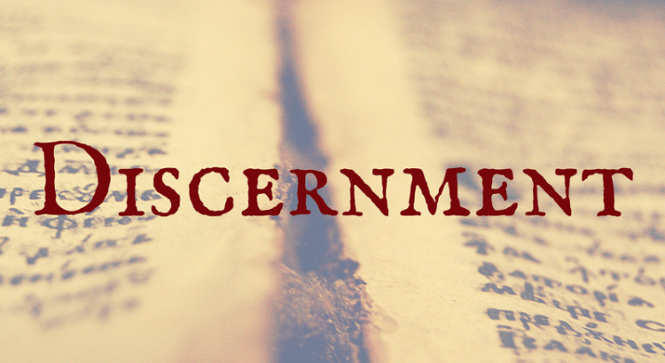 - What is discernment ? It is a knowing that comes deep within, from the soul. With discernment, it's using your better judgement, wisdom to make a determination about something or a particular situation. This is my definition of discernment, and I can say that the more I press into GOD, the better discernment I have. The Holy Spirit lives evidently inside me and I allow him to be the driving force in my decision making. Let the Holy Spirit guide and lead you in your life.#L2L4C 📚🌎