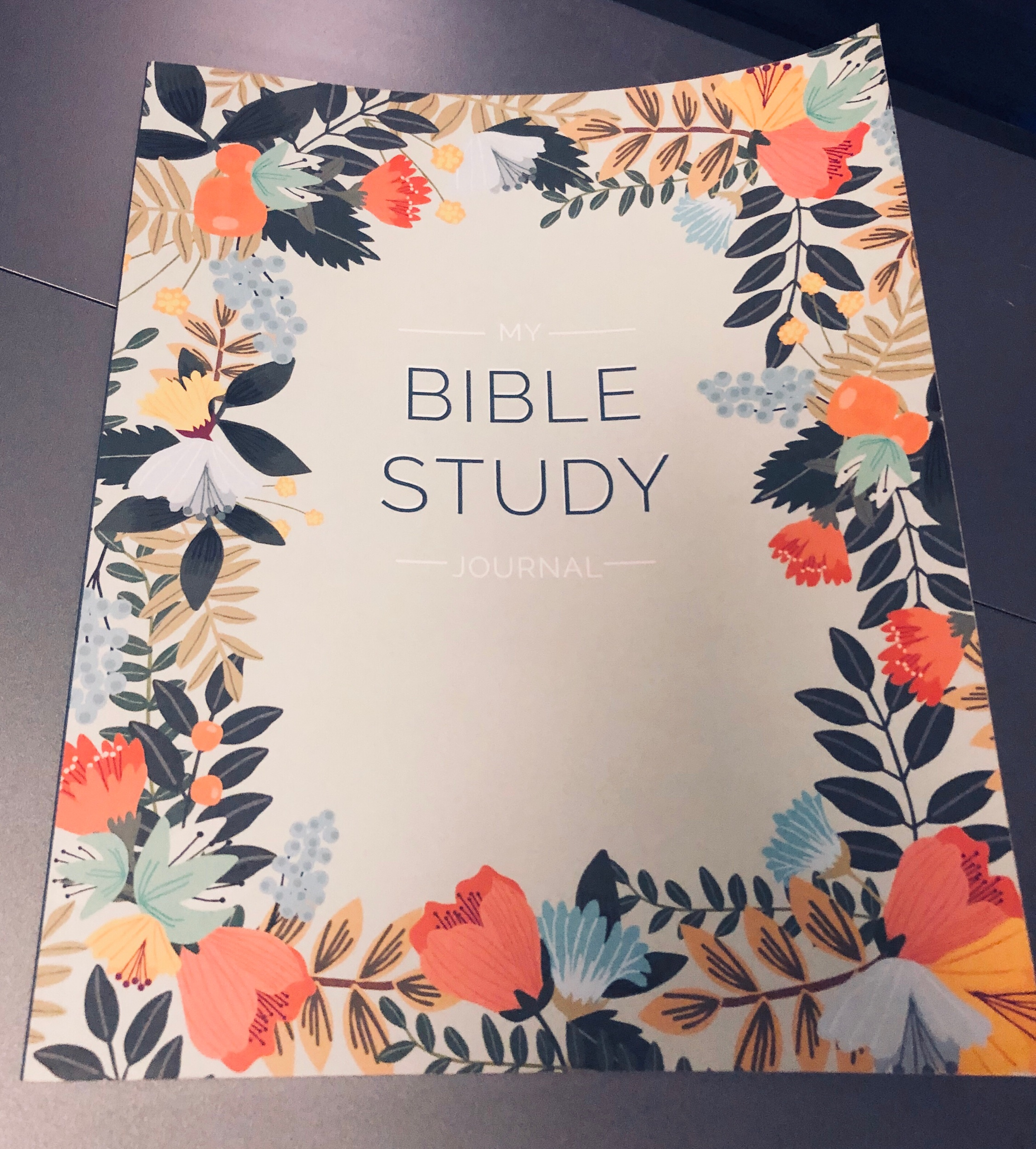 - Can't wait to start journaling in my new journal, as I continue to express my love for the ALMIGHTY !!! GOD give me strength, today, tommorow, always
