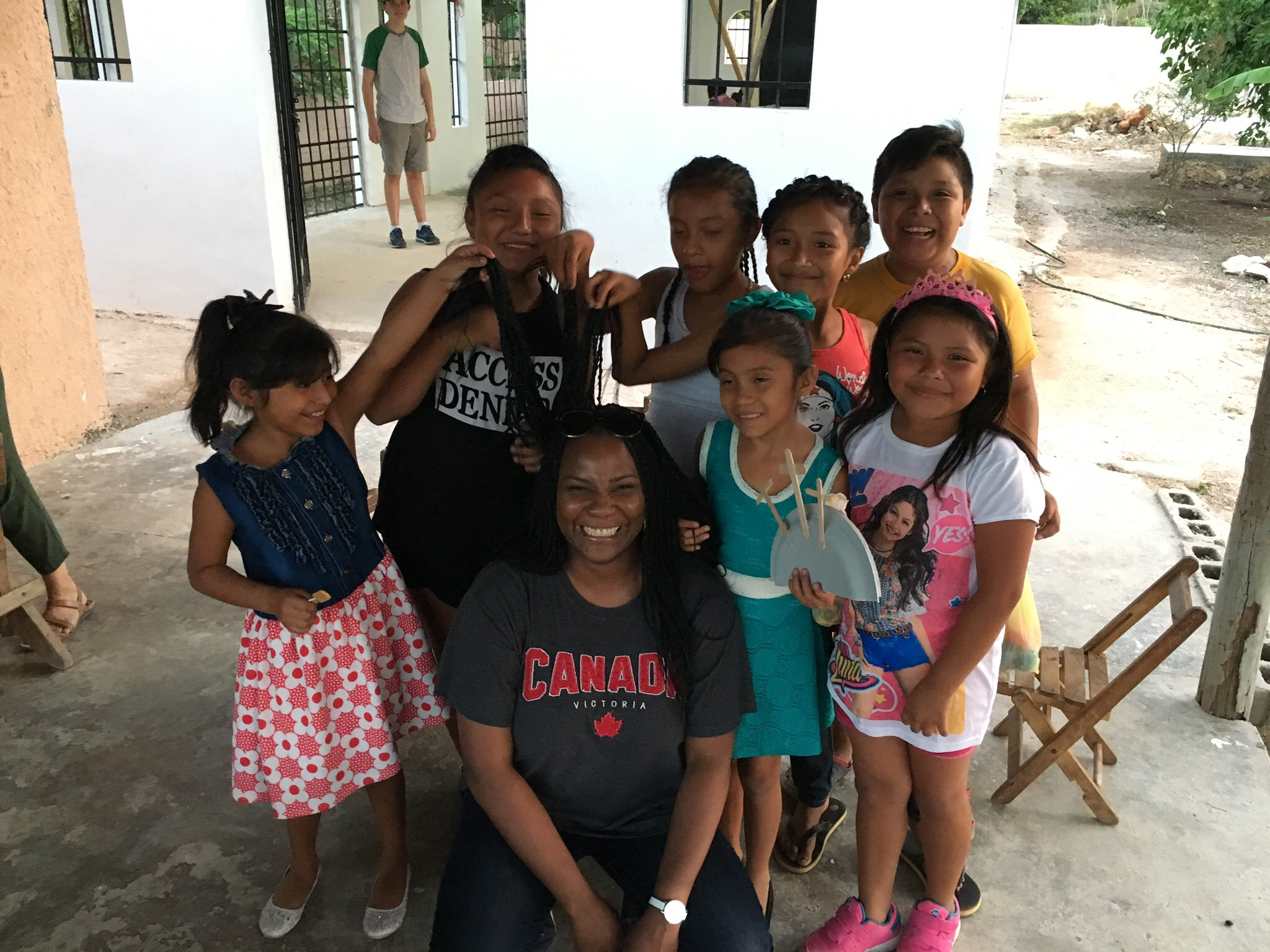 Tizimin Children at the DCI Missions playground