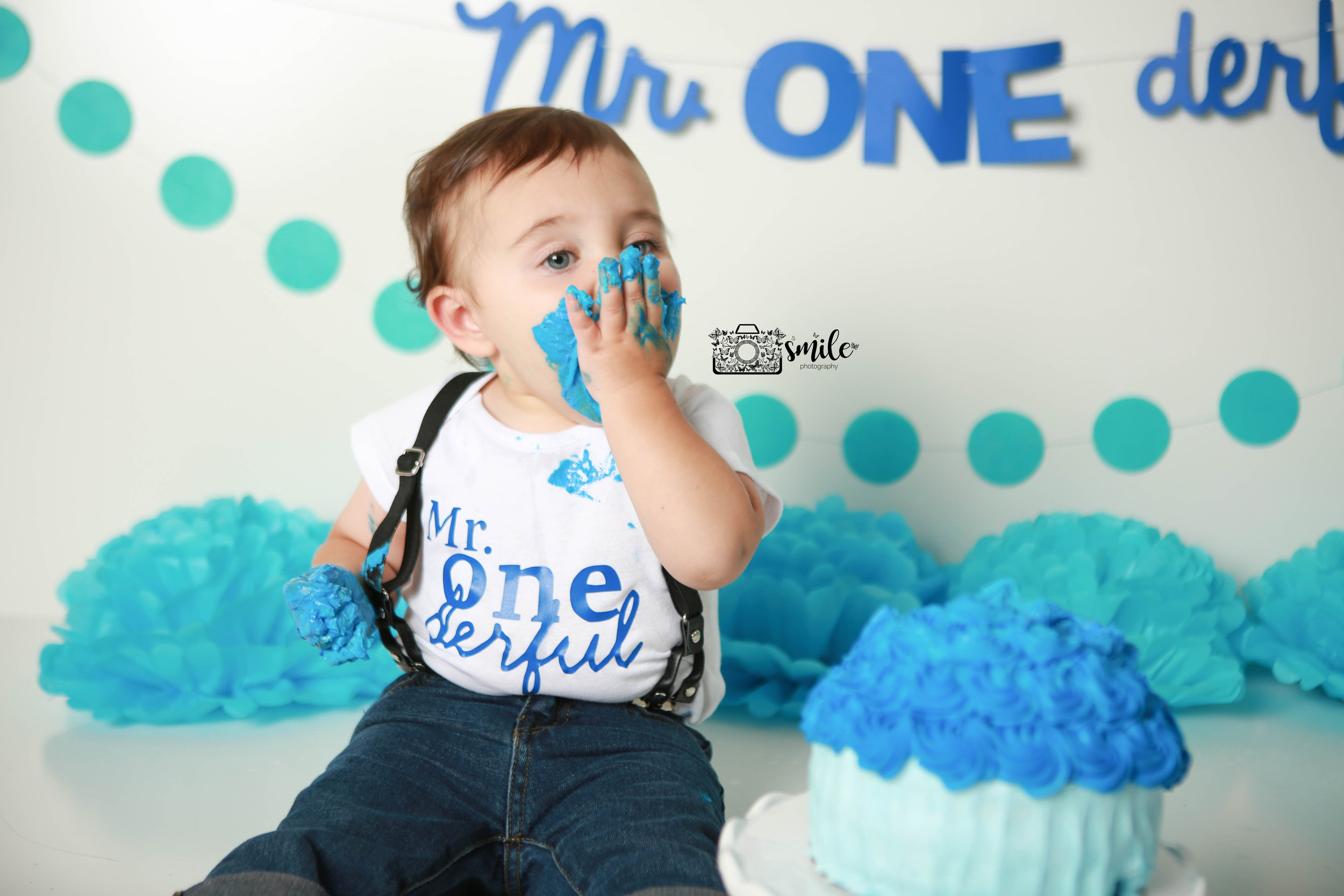 Cake Smash Jersey Shore Child Photographer