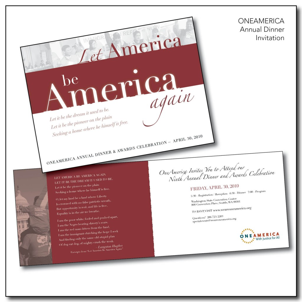 OneAmerica - Annual Dinner Invitation