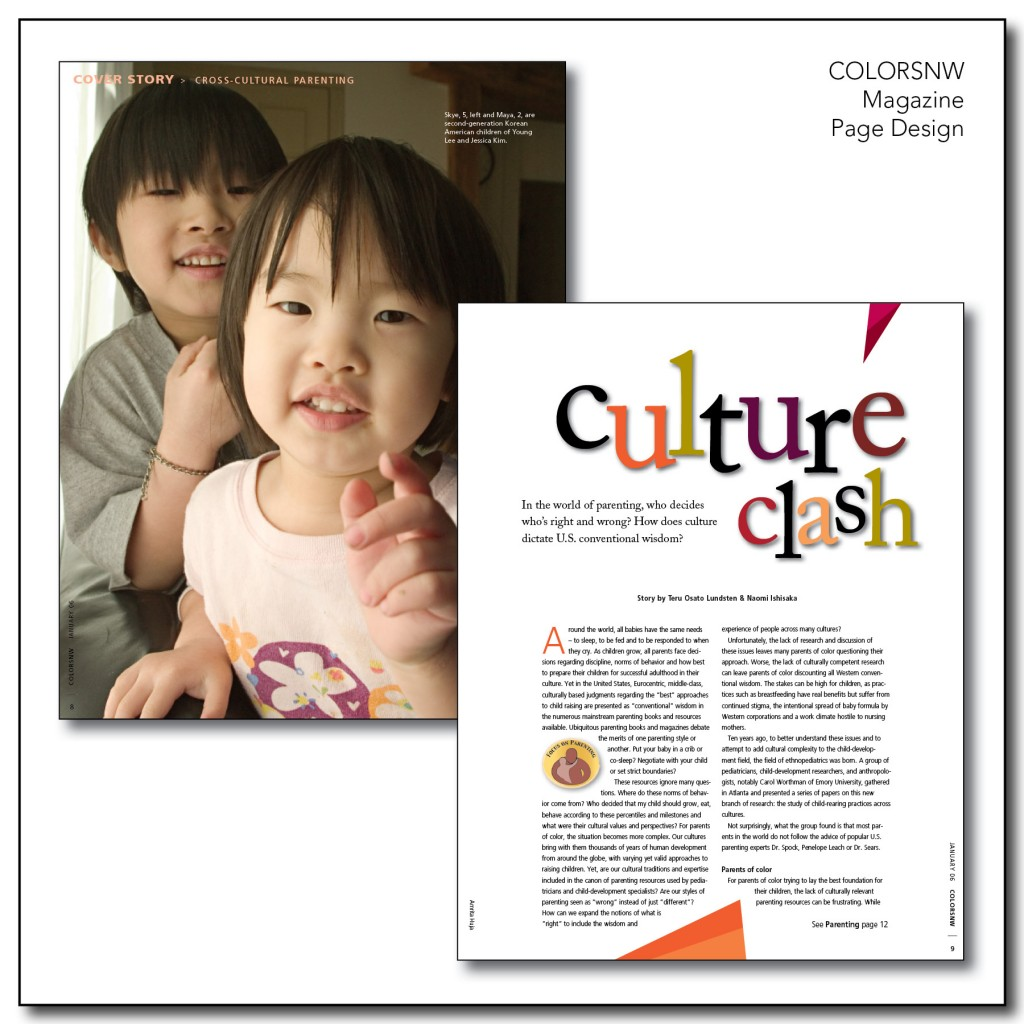 Page Design - ColorsNW Magazine