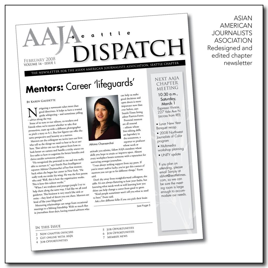 AAJA Chapter Newsletter