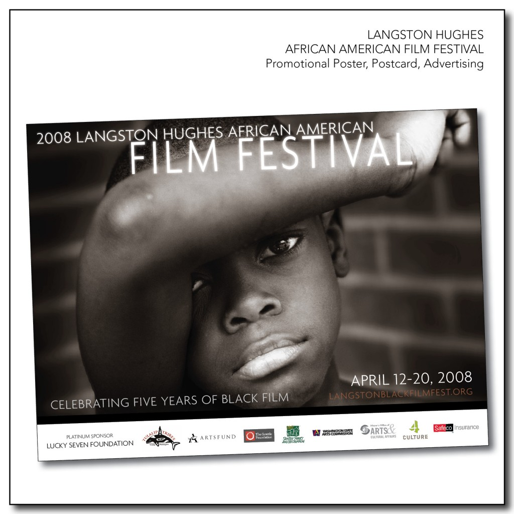 Langston Hughes African American Film Festival - Marketing Materials