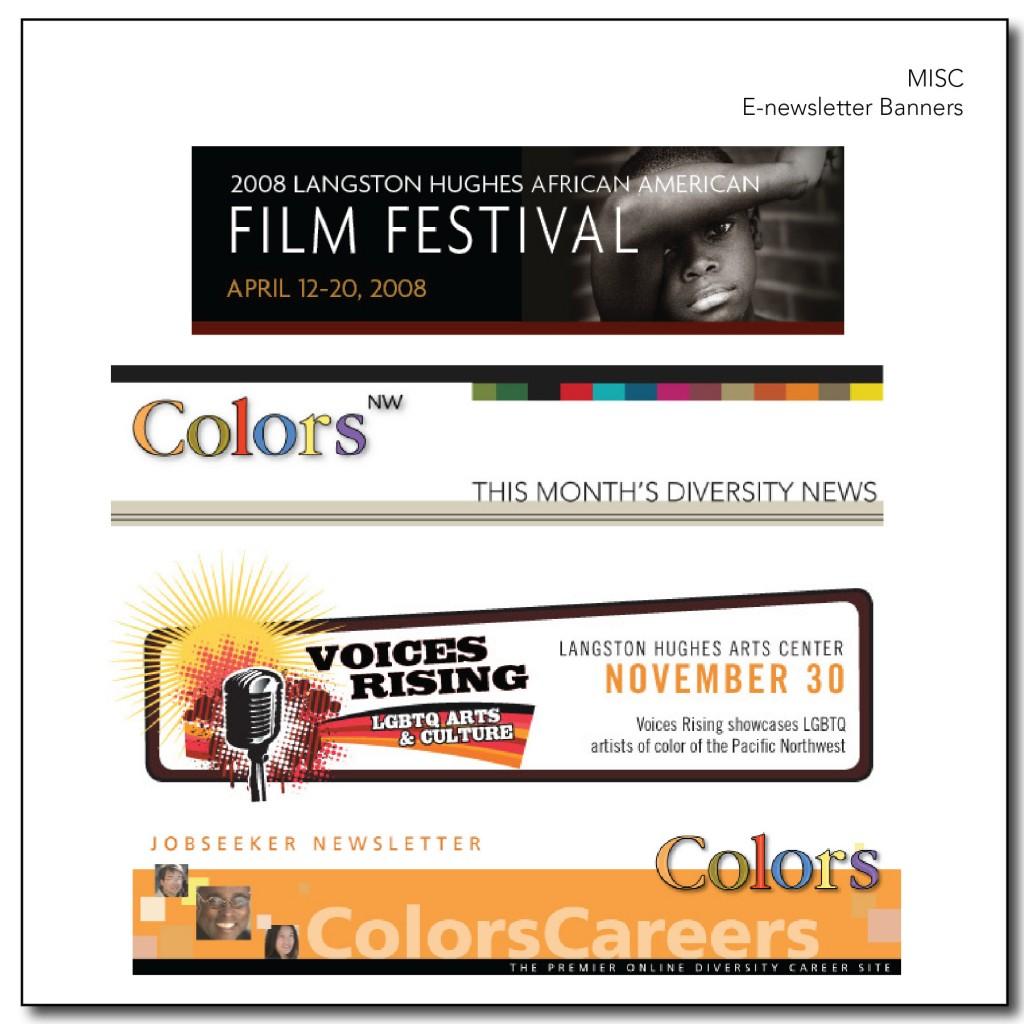 E-newsletter Banners