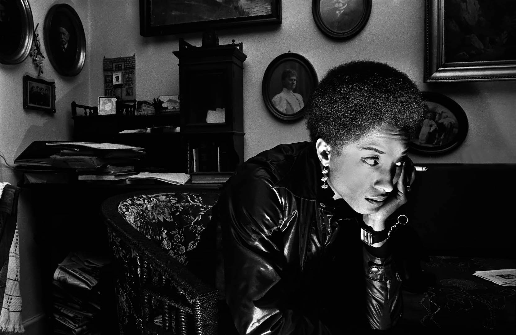 Connie Matthews by Robert Wade. Copenhagen, Denmark 1969. (Photo courtesy of the photographer from  All Power: Visual Legacies of the Black Panther Party , PCNW 2018)