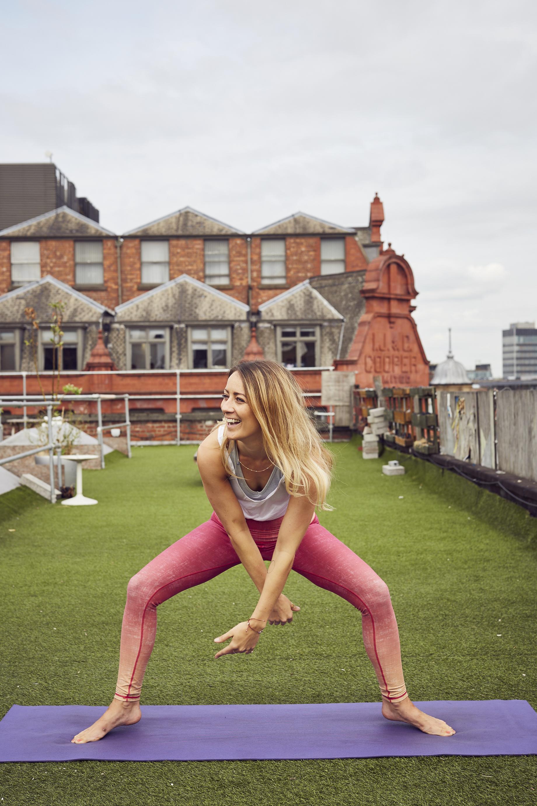 Eirian Collinge - Cariad Yoga
