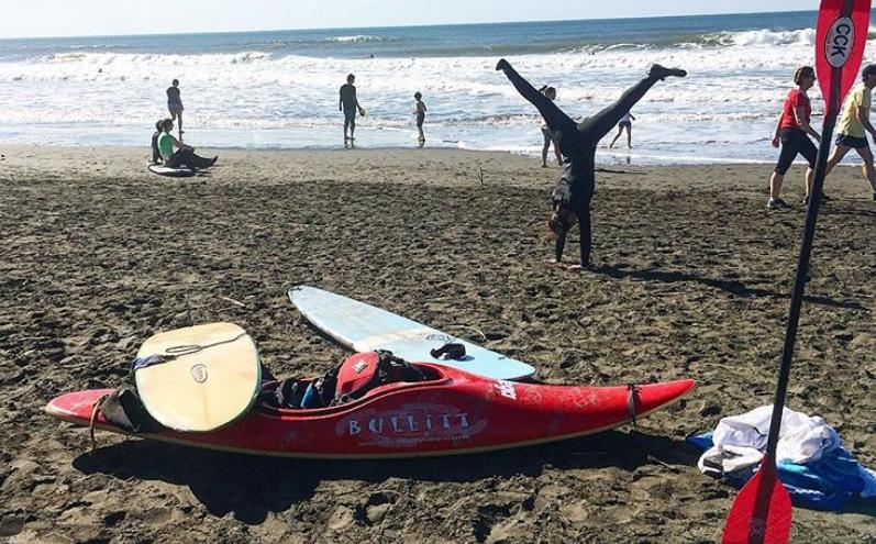 The surfcraft pile at Ocean Beach (Photo: Laura Zulliger)