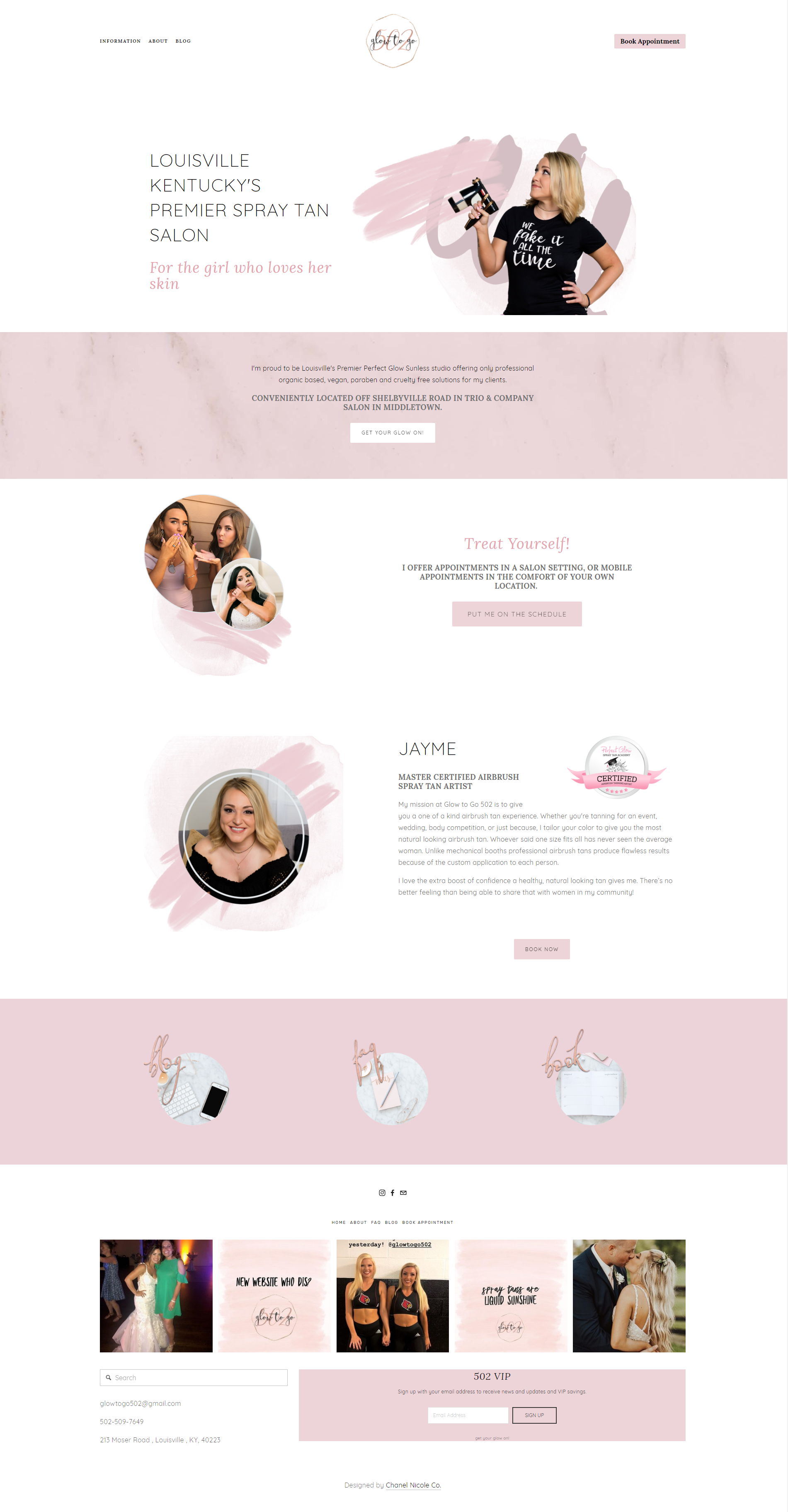 Glow to Go 502 home page - Chanel Nicole Co..png