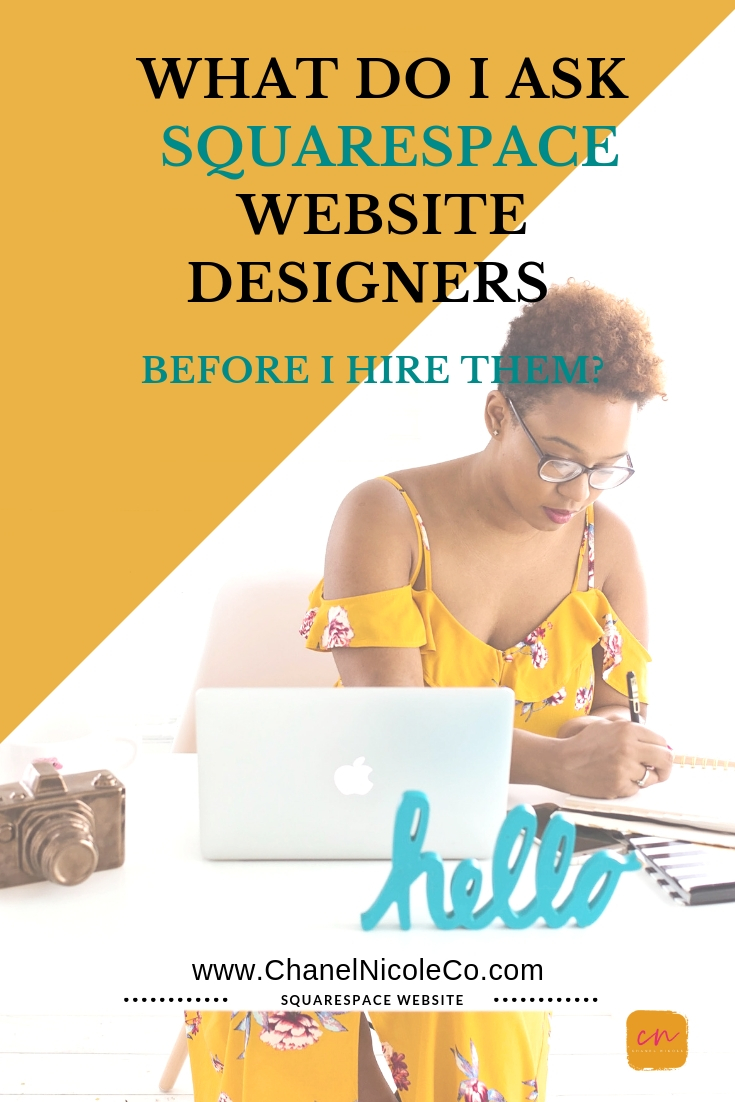 what to ask my squarespace website designer during our free consultation