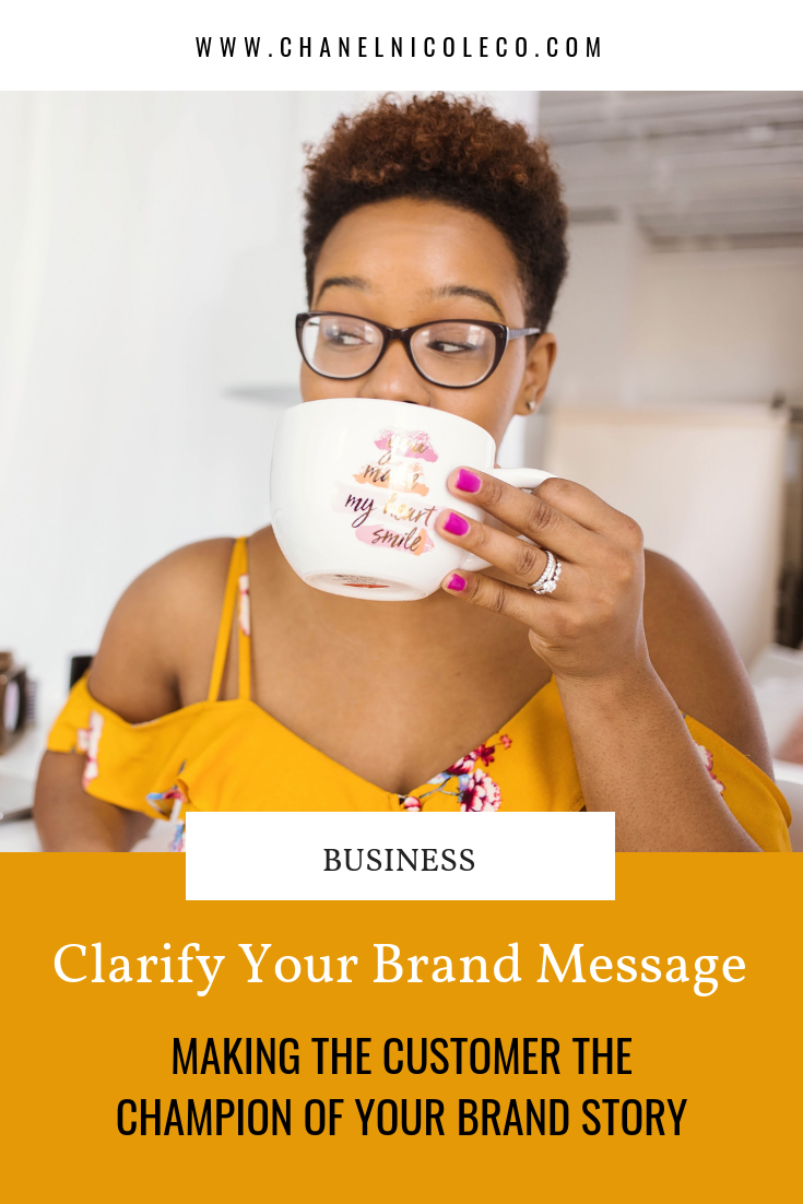 CHANEL NICOLE BLOG - clarify your brand message