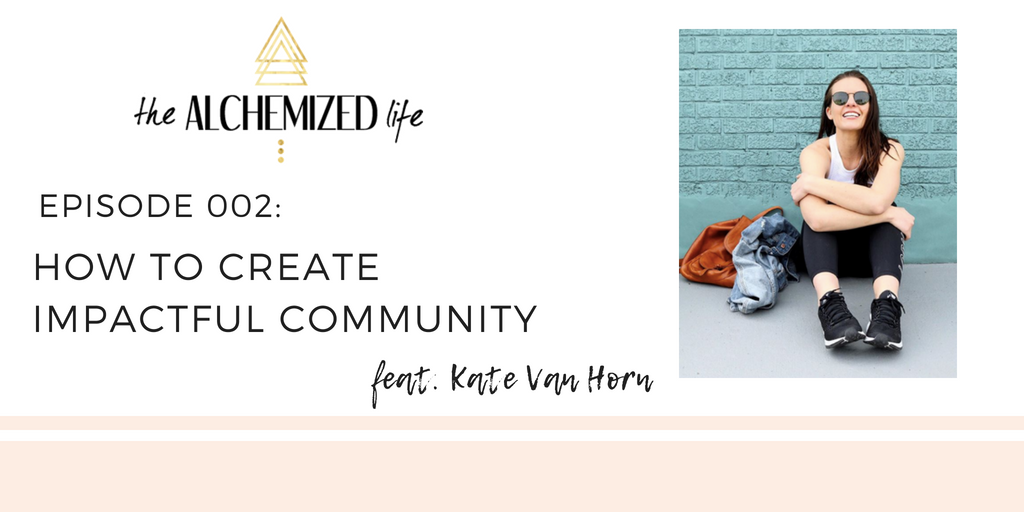 podcast interview with kate van horn