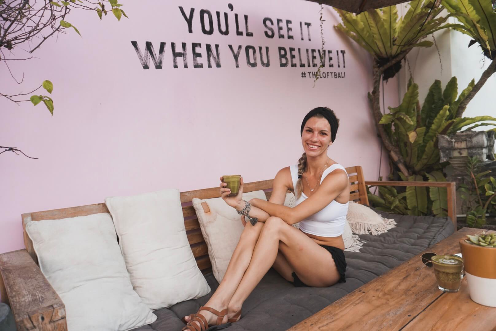 This was taken in Canggu, Bali. It was my favorite café and favorite IG-worthy wall.