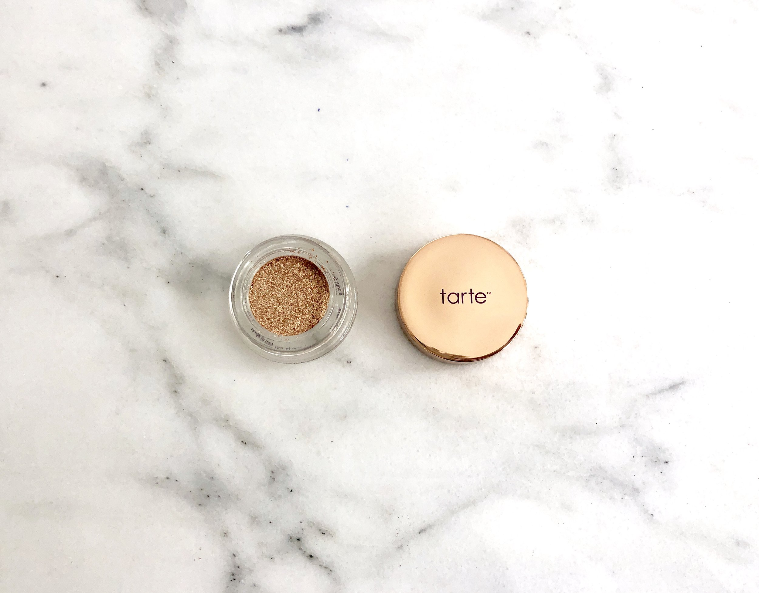 Tarte Chrome Paint Shadow Pot Review — cosmetic curator