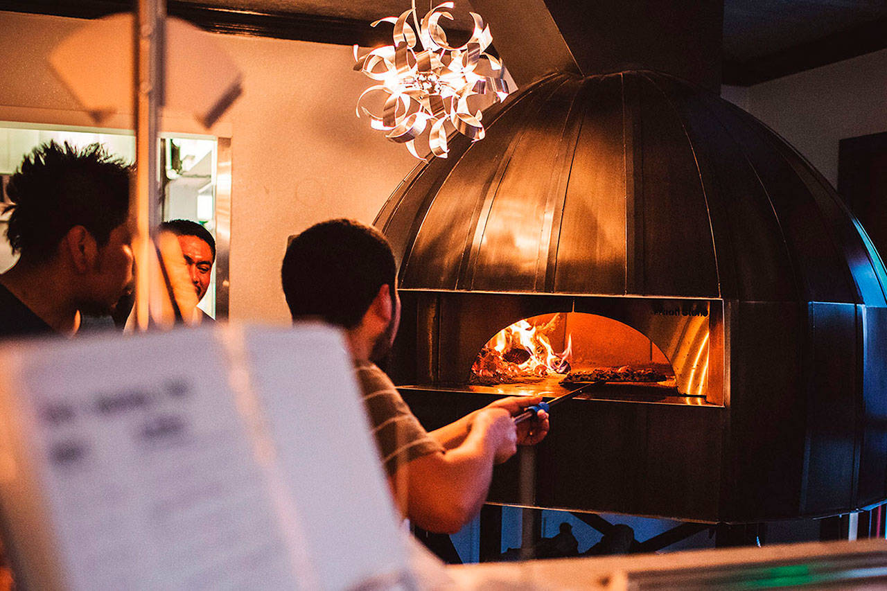 Spark Pizza in downtown Redmond opened last month. Courtesy photo