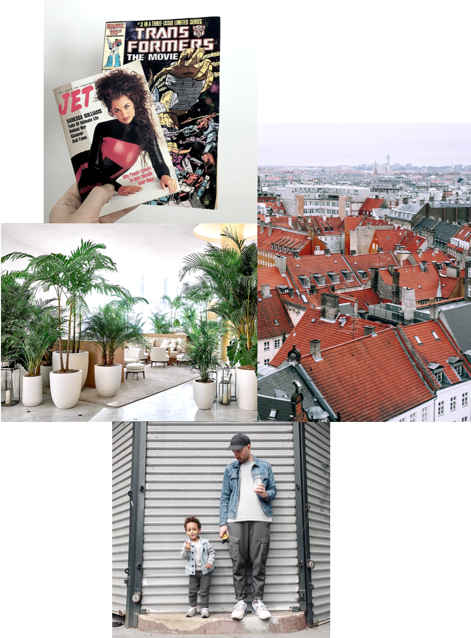 Top to Bottom: @mick // Copenhagen by Orlova Maria // Edition Miami by @mick // @mick